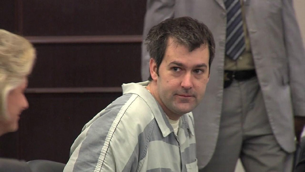 Slager in court Friday. (WCIV/Dave MacQueen)<p></p>