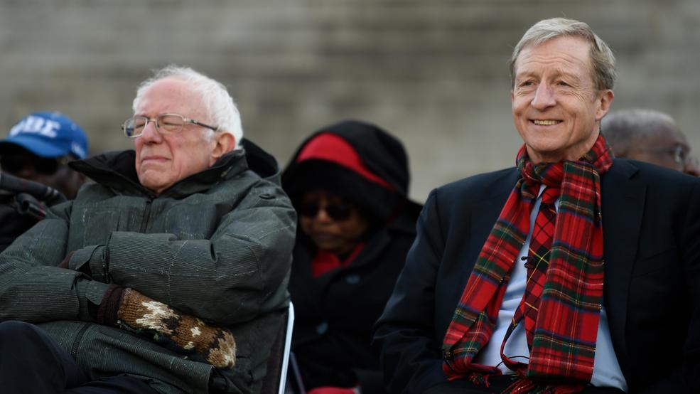 In SC, Sanders could get a boost from billionaire Steyer