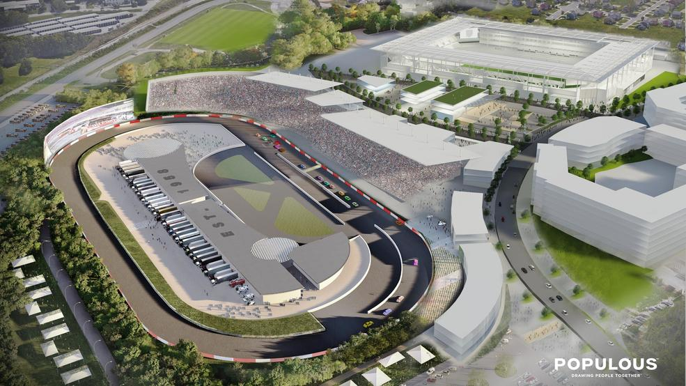 NASCAR to Nashville possible without taxpayer help, speedway says