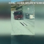 Caught on video: Car dragged by big rig