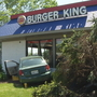 Man crashes into North Providence Burger King, later dies
