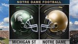 Notre Dame battles Michigan State tonight on Fox Michiana