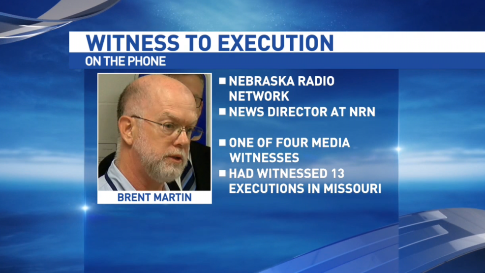 Witness of Carey Dean Moore's execution speaks with NTV | KHGI