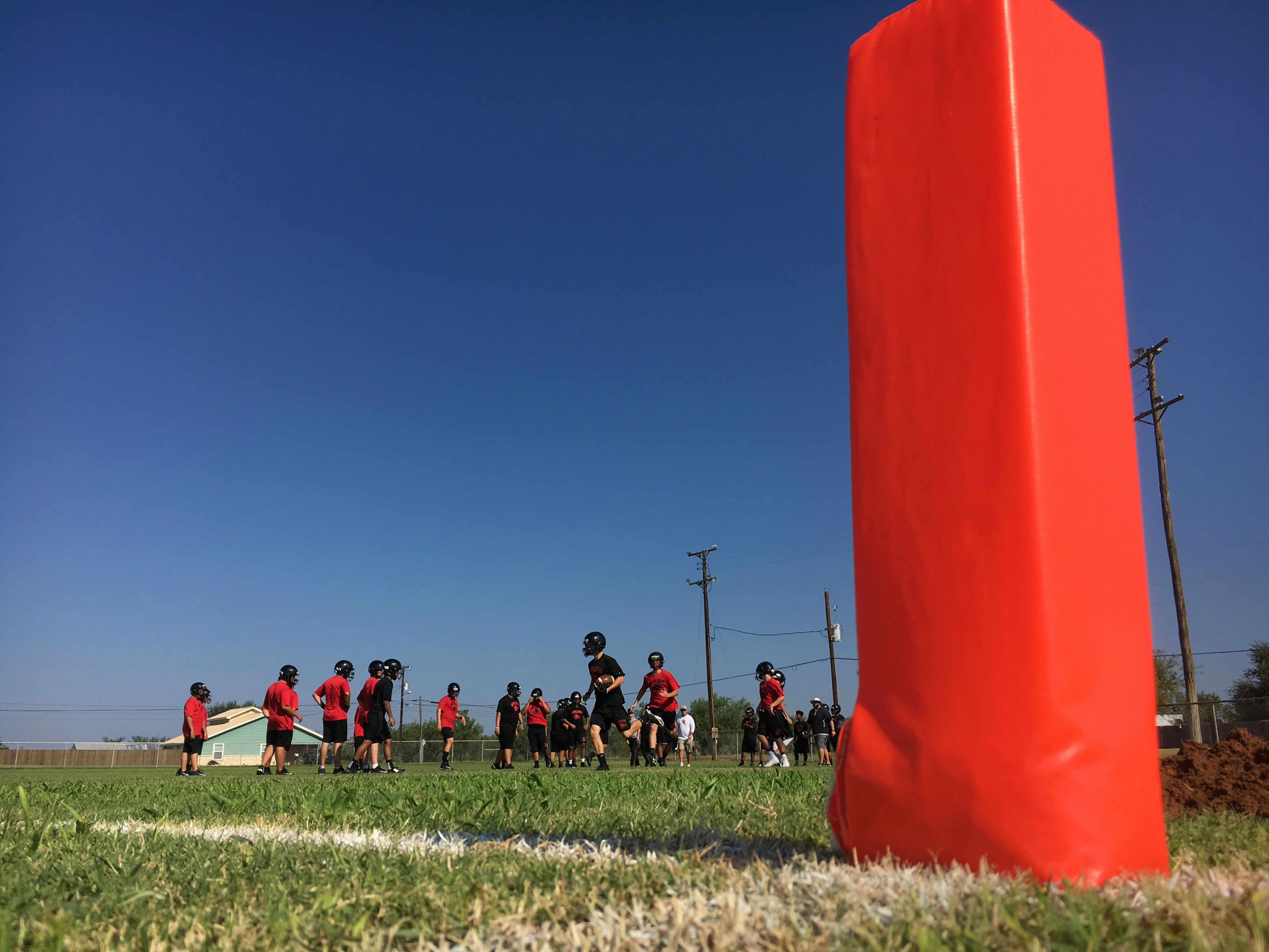 DAY 3: High school football practice -- Colorado High School (Photos by Chris Wilner& Evan Nemec)