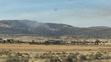 Crews respond to brush fire sparked by Warm Springs Fire hot spots north of Reno