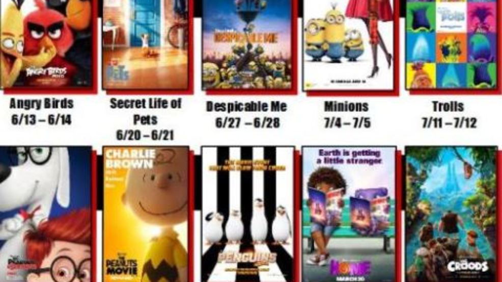 Venue Cinemas Showing Kids Movies For 1 This Summer