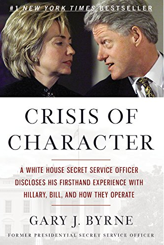 #14. Crisis of Character: A White House Secret Service Officer Discloses His Firsthand Experience with Hillary, Bill, and How They Operate by Gary J. Byrne  Amazon announced the best-selling books of 2016 earlier this week! How many have you read? (Image: Amazon.com)