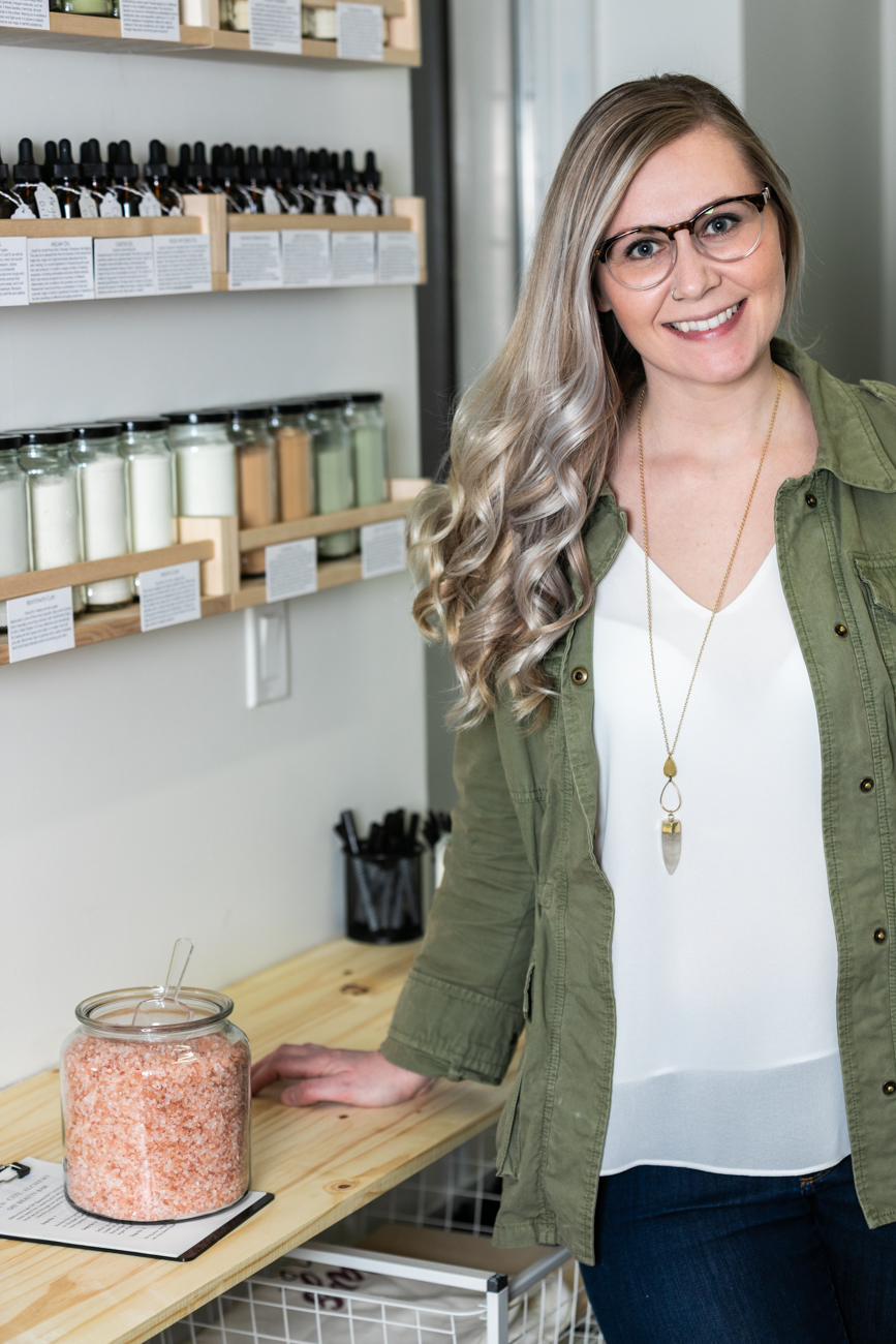 Emily Little, founder and curator of the Queen City Alchemy brand / Image: Amy Elisabeth Spasoff // Published: 4.11.19
