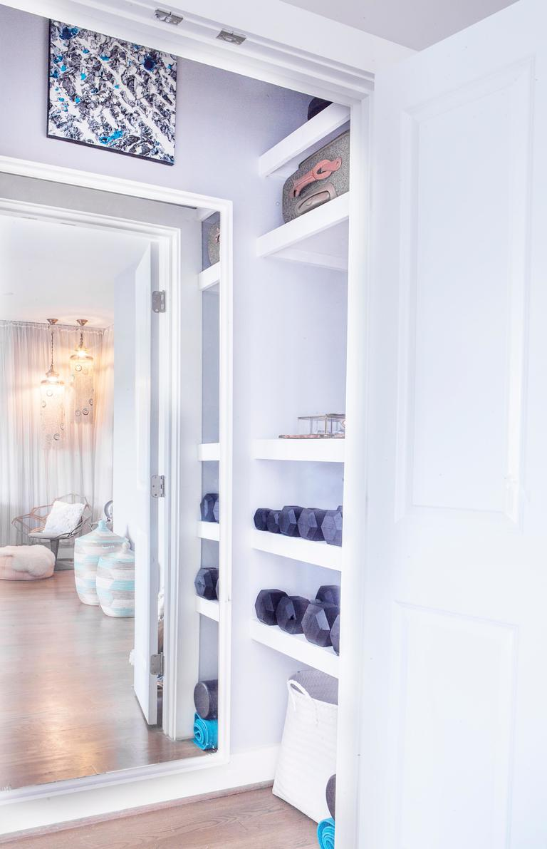 1. Make a plan: Start by taking an inventory list of your clothing, shoes, and accessories. Do you need more shelves or do you need more hanging room?(Image: Ashley Hafstead)