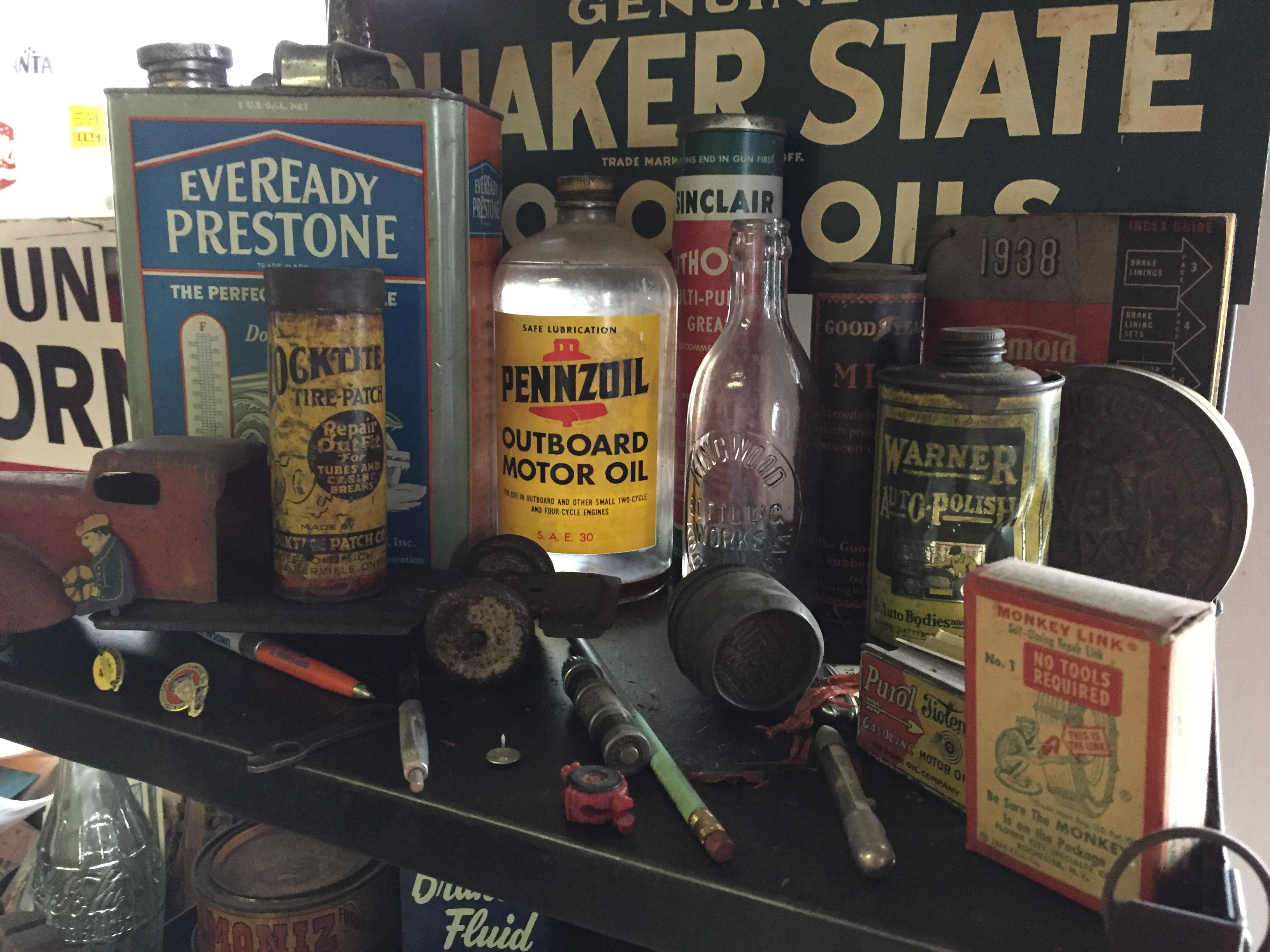 Several items in the service station were donated from gas stations all across West Virginia. (WCHS/WVAH)