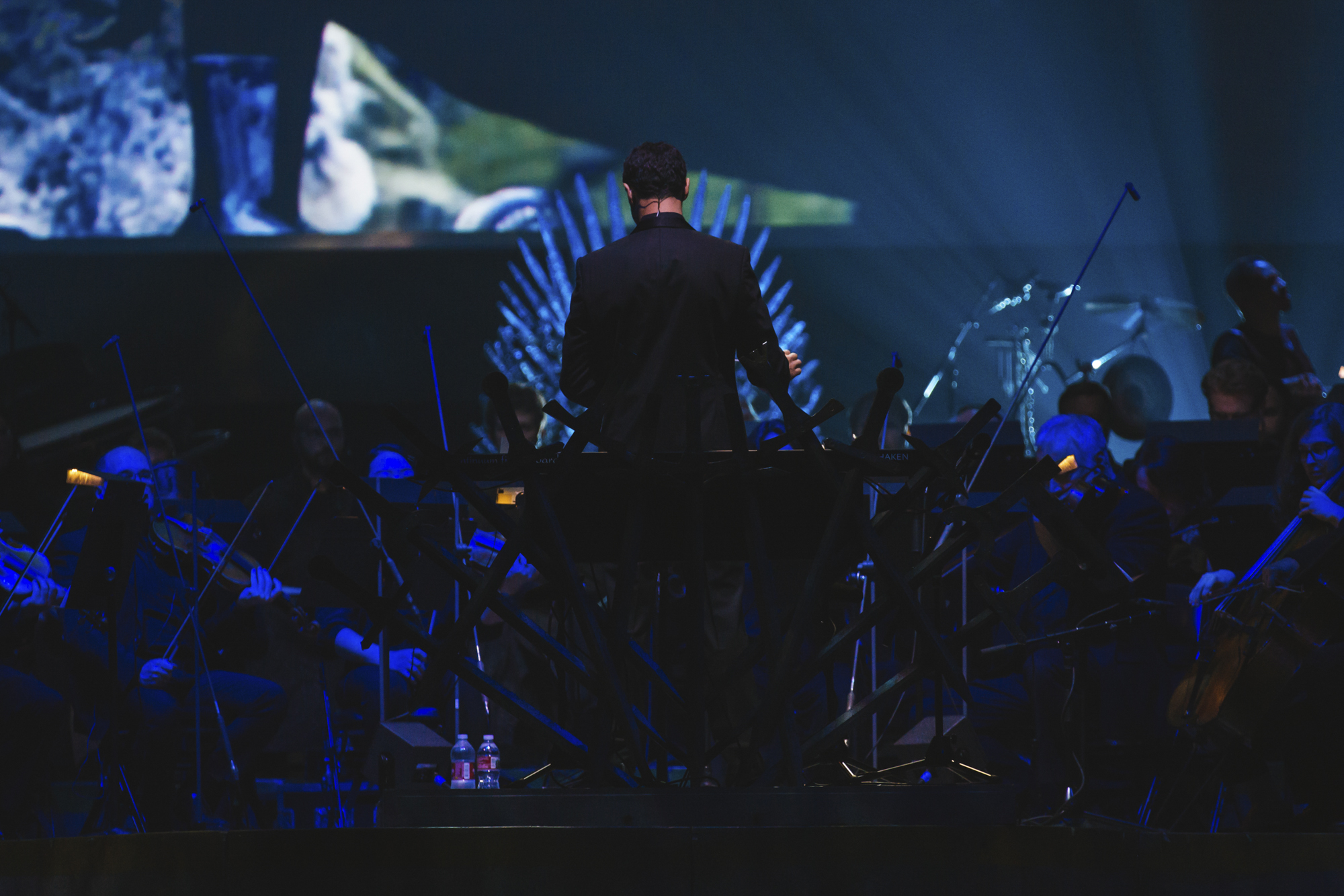 <p>Winter is literally coming, but it was nothing but HOT in KeyArena tonight when the Game of Thrones Live Concert Experience came through town! The immersive and visual experience brought the Seven Kingdoms to life on a scale that's impossible to get through your TV. Composer Ramin Djawadi takes a full orchestra and choir through the score of the Emmy Award-winning show that so many are obsessed with. (Image: Sunita Martini / Seattle Refined)</p>