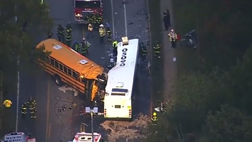 School Bus Driver In Fatal Baltimore Crash Was Driving On