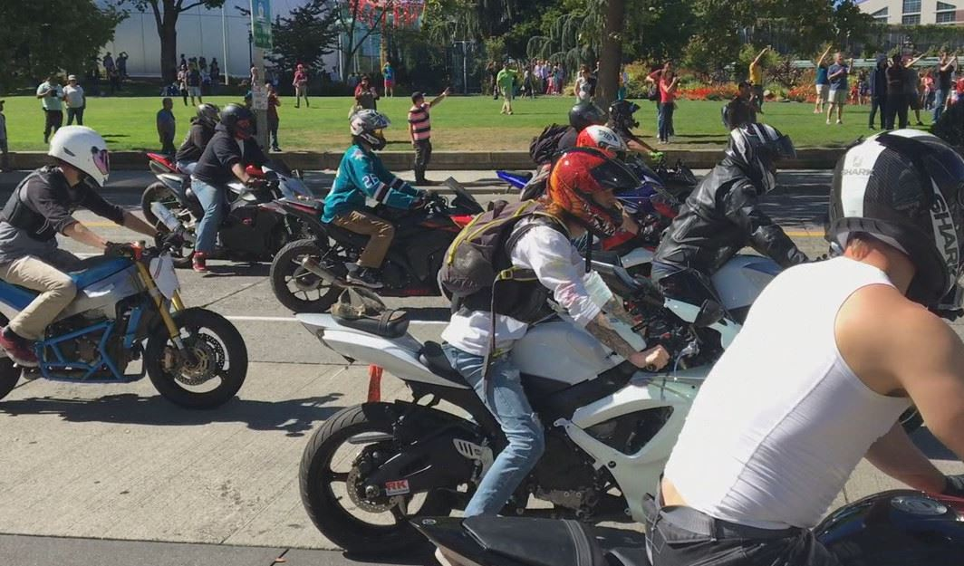 Motorcycles took over the streets of Seattle on Aug. 26. (KOMO file photo)