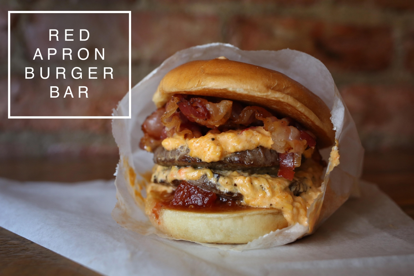 Red Apron Burger Bar is located at 1323 Connecticut Avenue NW (Amanda Andrade-Rhoades/DC Refined)