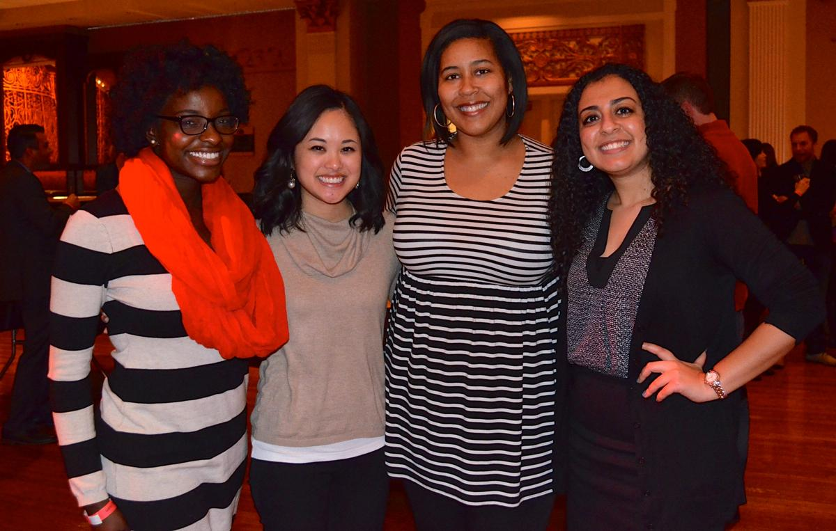 Karena Stewart, Karen Brown, Kara Jones, and Lou Nazir (Image: Leah Zipperstein / Cincinnati Refined)