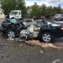Two hospitalized, 2 northbound lanes closed after multiple-car crash on State Street