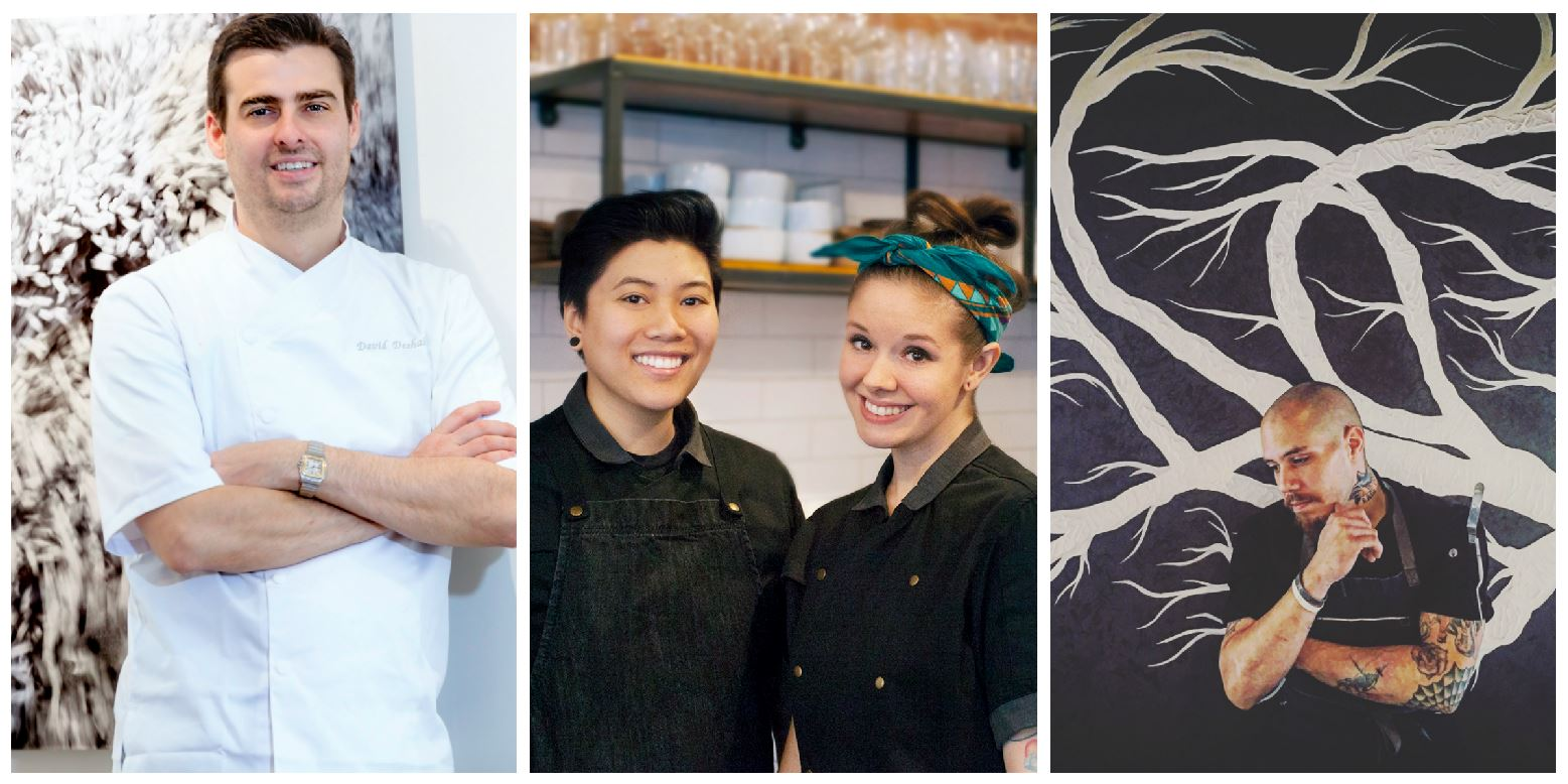 It's a new year – 12 months of blank calendar pages are waiting to be filled with your dining adventures. But where to go? These seven rising star chefs are putting out some of the best plates in town. Eat with them now and say you knew them when. (Images L to R: Courtesy Unconventional Diner; Doi Dua; The Bird)
