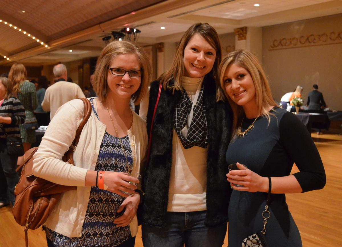 Julia Motley, Jayme Madden, and Mallory Hanson (Image: Leah Zipperstein / Cincinnati Refined)