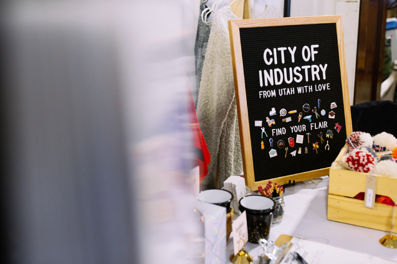 City of Industry makes patches, pins and more for makers and hobbyists. they are badges of honor for the people with specific passions, especially those who make things with their hands. You can learn more about City of Industry or buy their work at http://www.cityofindustryshop.com. (Image: Joshua Lewis / Seattle Refined)