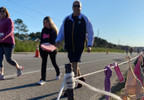 (WPMI) Over 200 runners participate in Mobile's annual Bras Across the CAUSEway event