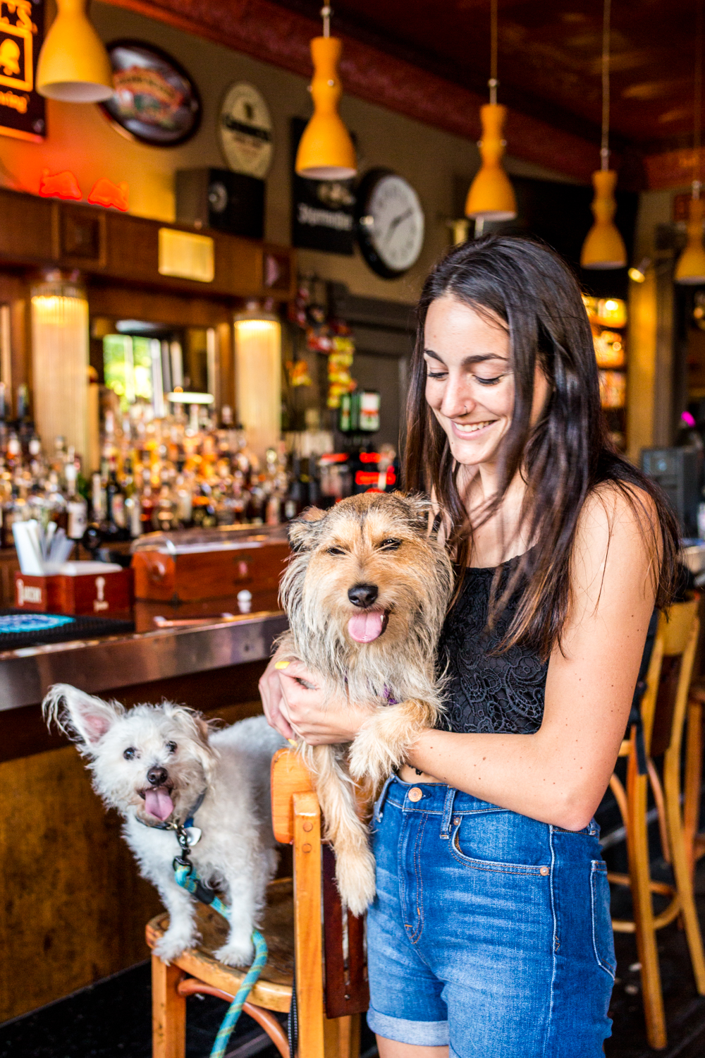 PLACE: The B-List / ADDRESS: 343 Division Street (Bellevue) / The self-proclaimed hole in the wall is a neighborhood hangout where pups are welcome before 8 PM. The B-List offers a collection of over 100 bourbons, a TV and fire pit on the patio, and a daily $3 Craft Special. / Image: Catherine Viox // Published: 10.14.19