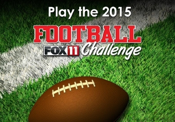 Play the 2015 FOX 11 Football Challenge