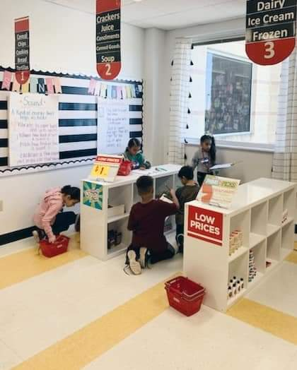 According to Kerr, a student's parent, her own grandparents and even H-E-B themselves all pitched in to make her idea a reality. (Photo courtesy Vanessa Kerr, NEISD Teacher)