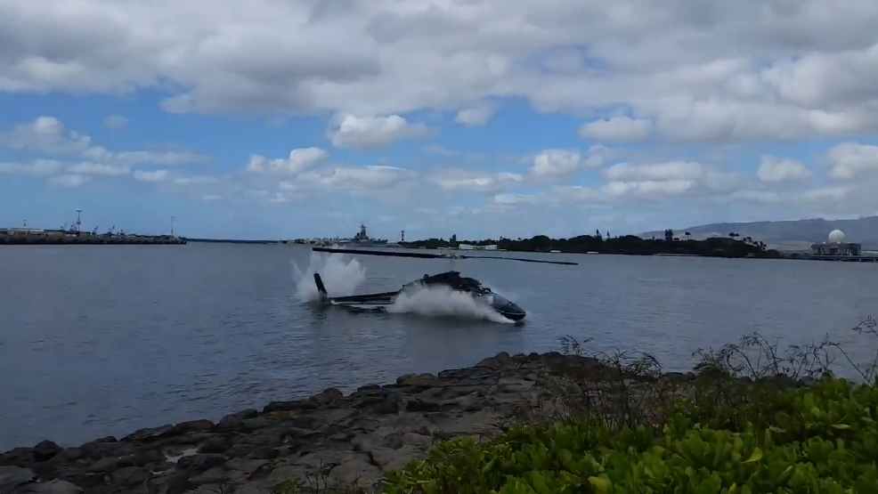 Helicopter crash in Hawaii: Witness says chopper was