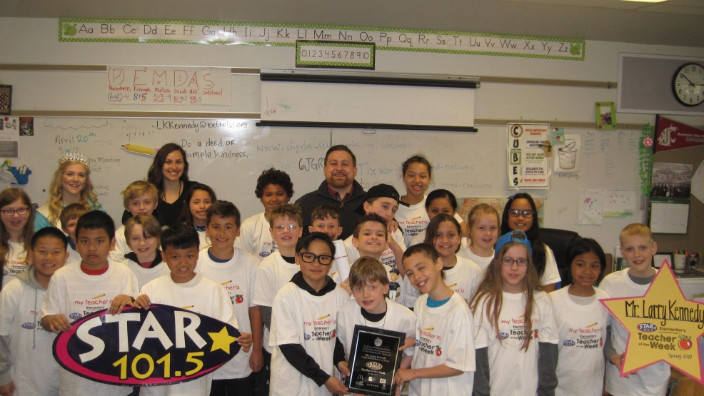 STAR 101.5's Teacher of the Week: Mr. Larry Kennedy