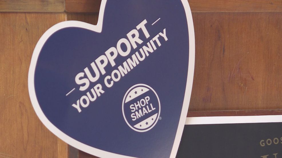 local stores remind residents about small business saturday and
