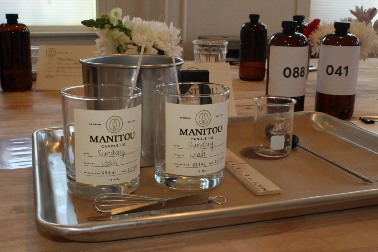 Located in a beautiful space in Columbia-Tusculum, Manitou Candle Co. lets you create the perfect candle. And it's one that has a 70-hour burn, in case you're counting. ADDRESS: 4015 Eastern Ave., Cincinnati, OH 45226. / Image: Delaney French // Published: 2.27.17