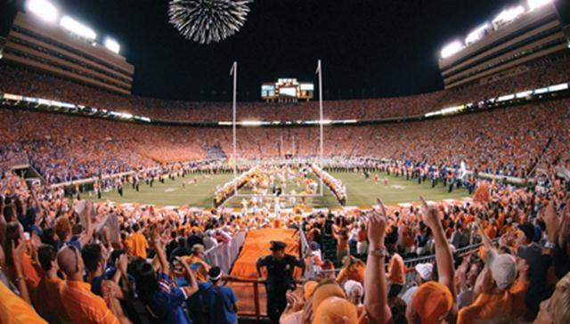 Knoxville, Tennessee. University of Tennessee.