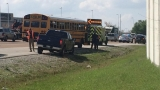 School bus carrying children involved in crash at Lee Highway and 153