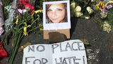 Vigil held for woman killed by car that rammed into protesters at white nationalist rally