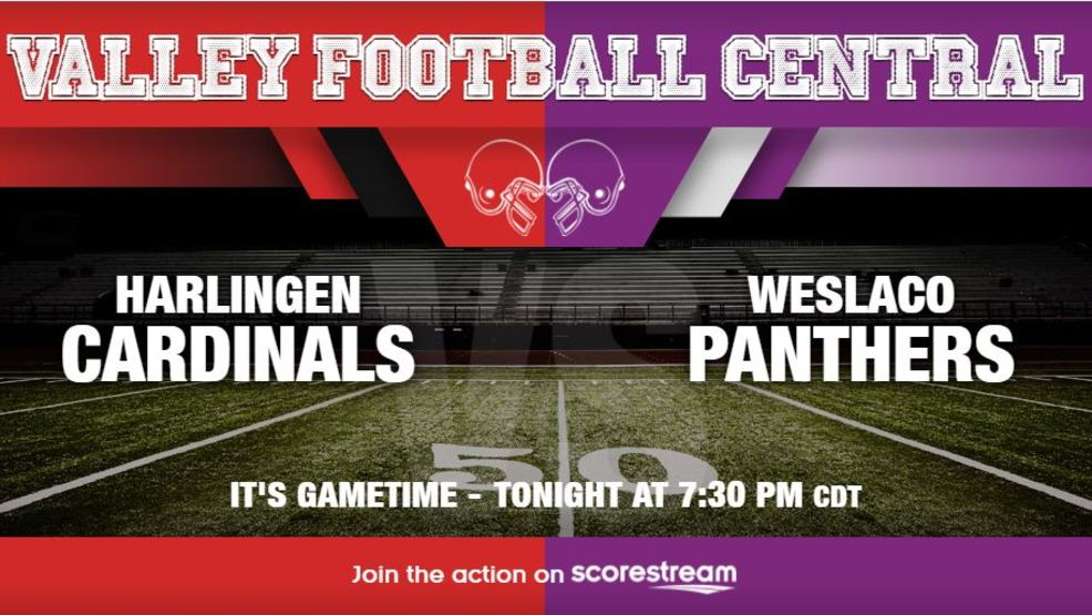 Listen Live: Harlingen Cardinals at Weslaco Panthers