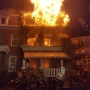 Several residents rescued, 2 row homes damaged in NW DC 2-alarm fire