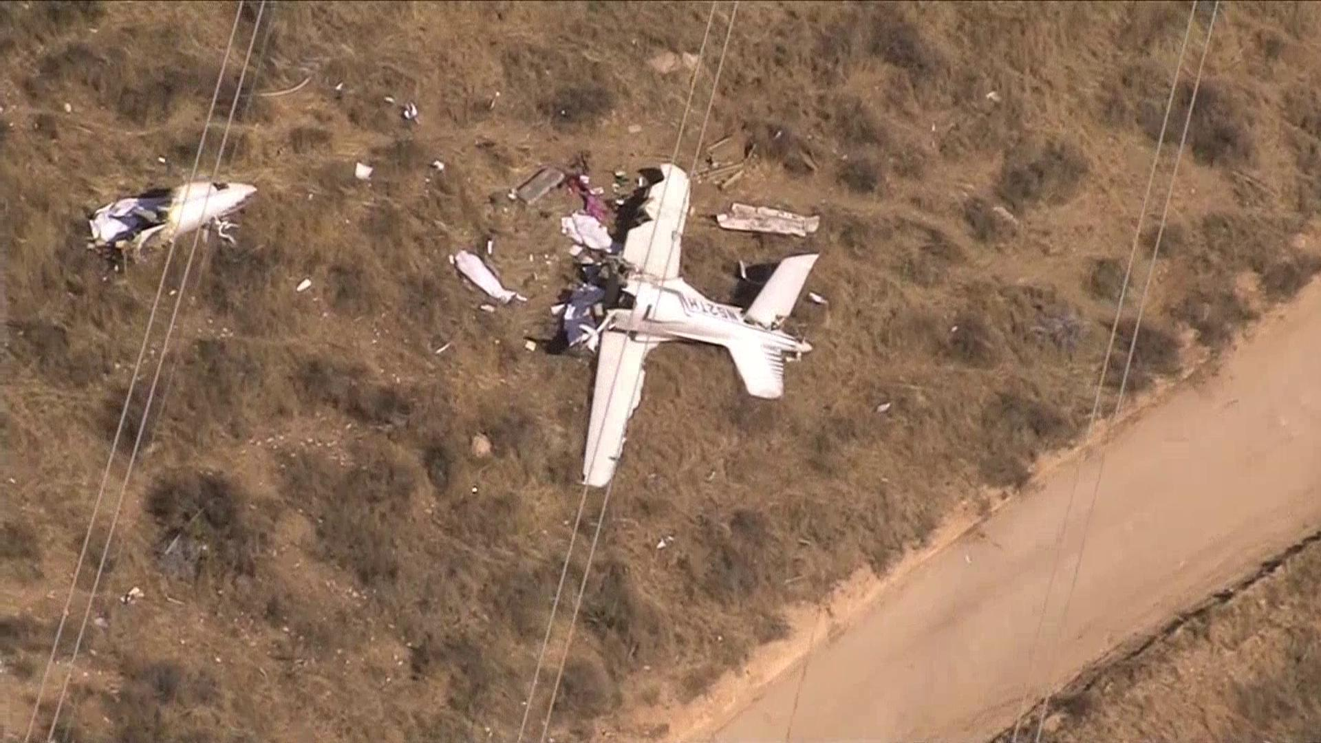 NA33Y CA SMALL PLANE CRASH{&amp;nbsp;}<p></p>