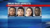 Nearly $200,000 worth of illegal drugs seized in Kanawha County drug raids