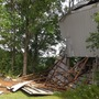 Severe storms hit Jefferson County, destroy storage building