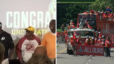 Redskins honor '87 replacement players with SB rings during Caps parade