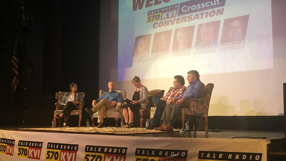 What a night at the KVI Crosscut Conversation!