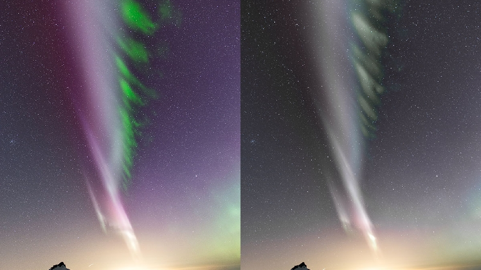 Why your camera sees the Northern Lights better than you do