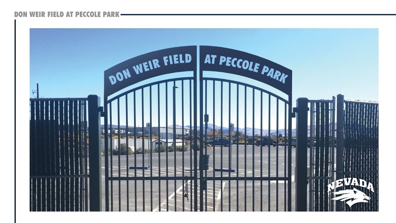 The opening gate leading to Don Weir Field at Peccole Park. (Courtesy: UNR Athletics){&amp;nbsp;}<p></p>