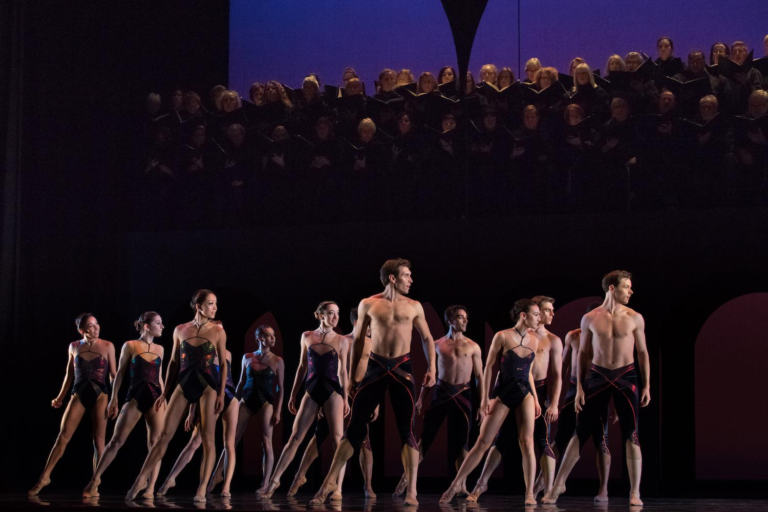 Pictured: Cincinnati Ballet dancers / Event: Carmina Burana (Feb. 8-11) / Image: Peter Mueller // Published: 3.3.18