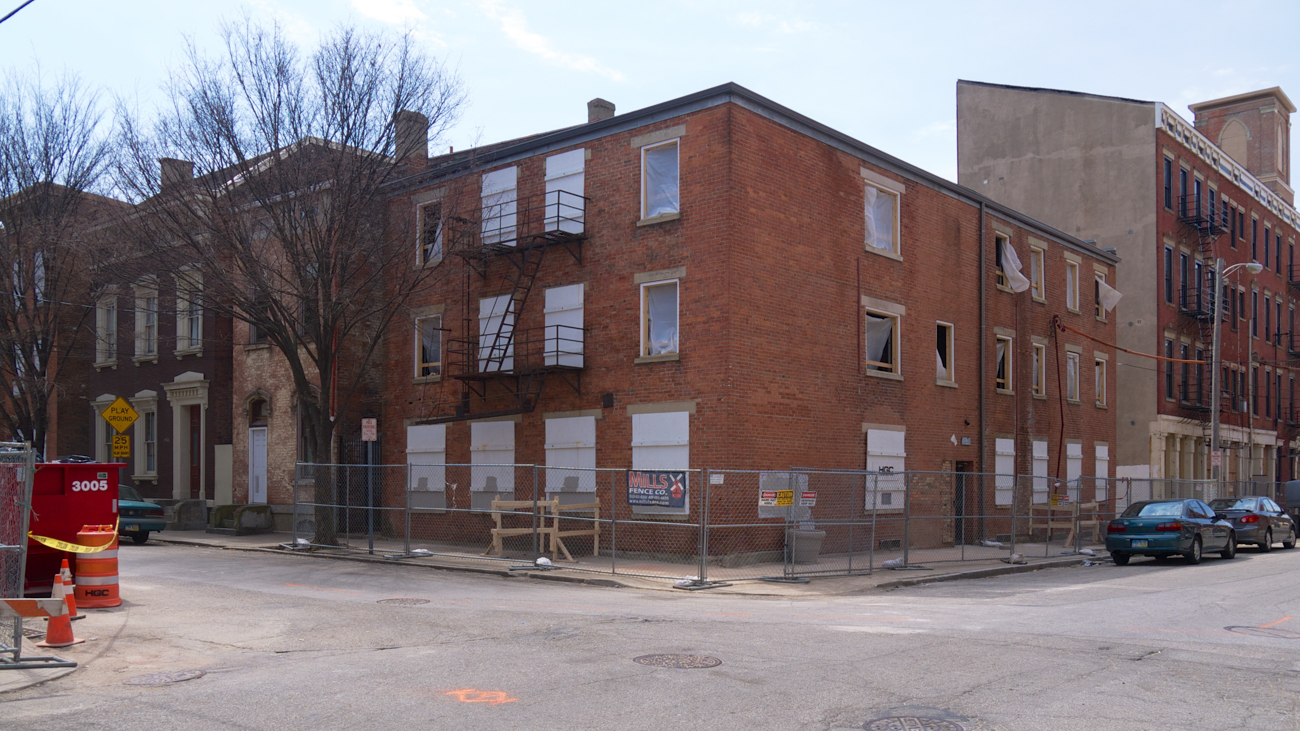 [BEFORE] LOCATION: Corner of 15th and Republic Streets (Over-the-Rhine) / IMAGE: Travis Estell