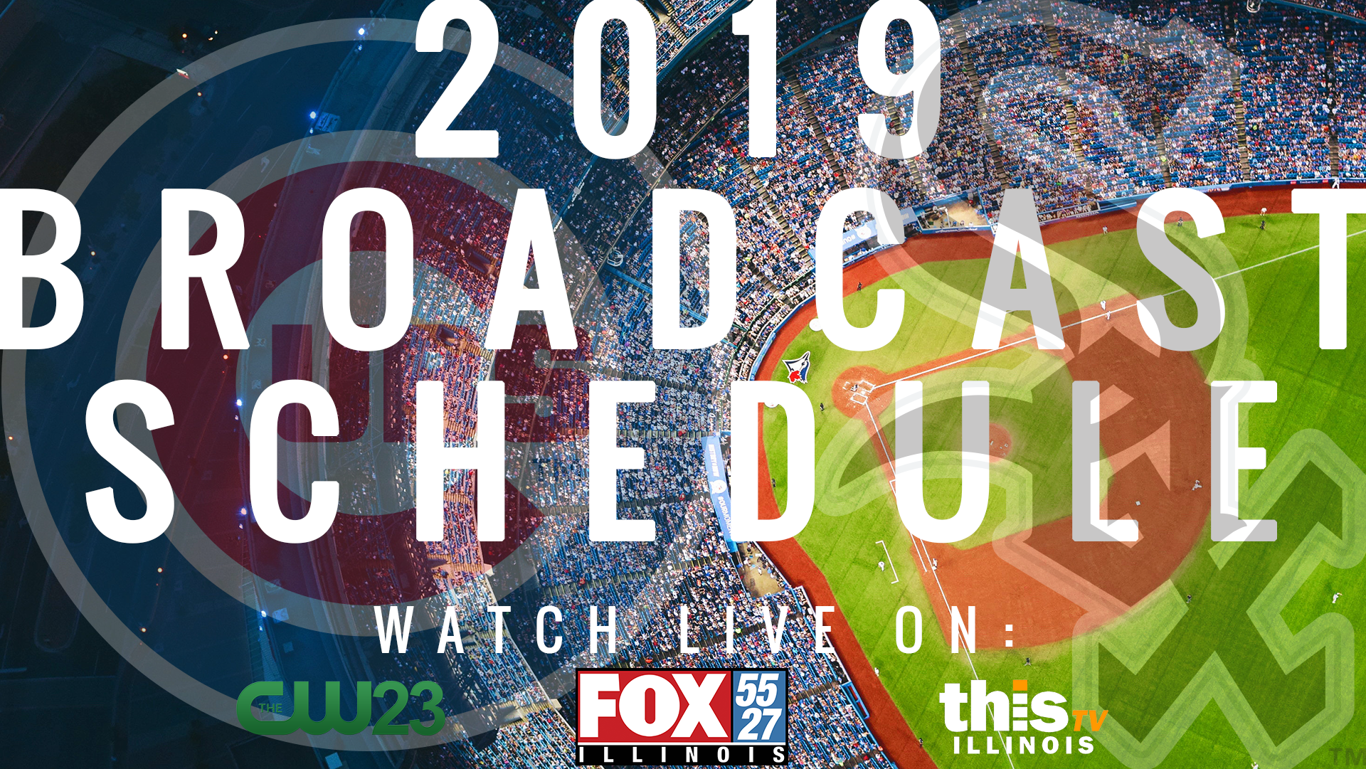 Get ready because Cubs and White Sox baseball is back in Central Illinois! Watch live game broadcasts on FOX Illinois, CW23 and ThisTV in your local area.
