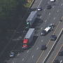 2 cars overturn in crash on southbound I-270 at Md. 124 in Gaithersburg