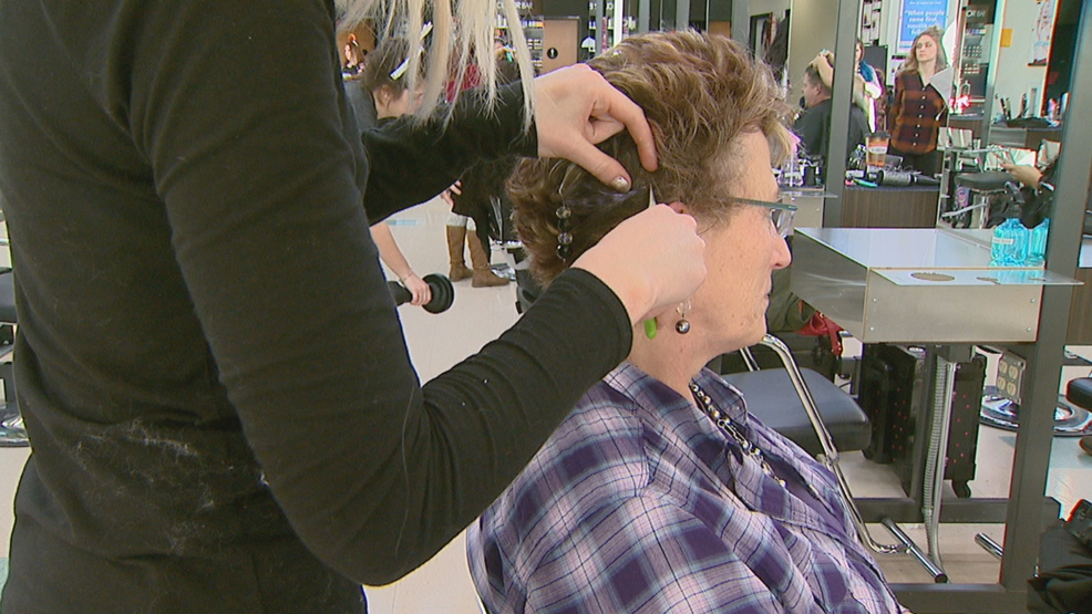 Green Bay Salon School Give Back To Caregivers Wluk