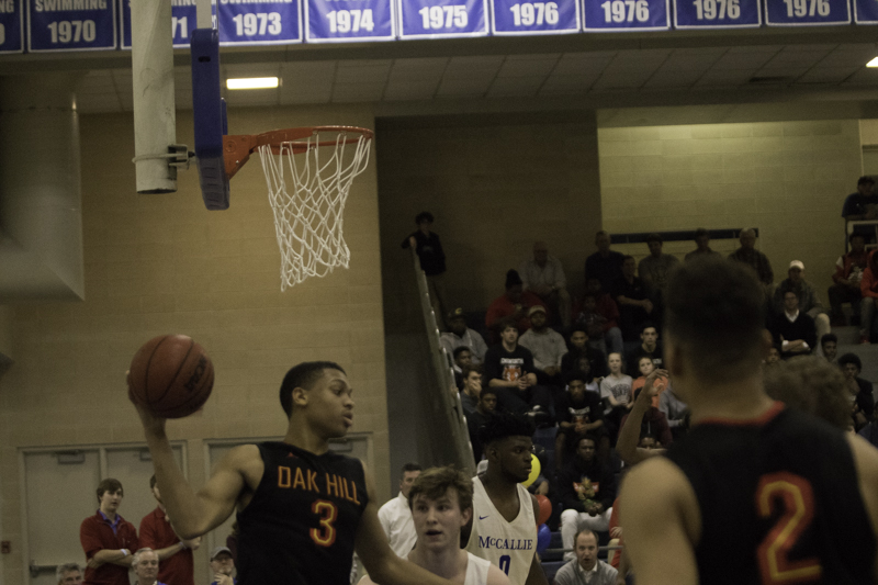 Oak Hill dominated the second half to rally over McCallie, 79-73.