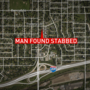 Omaha police say man found on house steps died at hospital